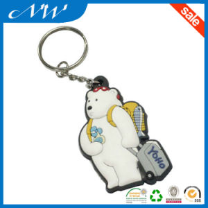 Hot Custom Fashionable 3D Soft PVC Keychain pictures & photos