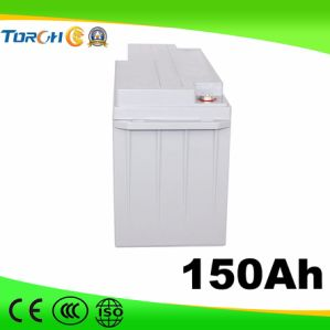 150ah Gel Type 12V Solar Battery for UPS, Power Station, Household System pictures & photos