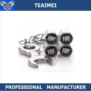 Car Logo Dust Cap Wheel Tire Valve Caps with Spanner pictures & photos