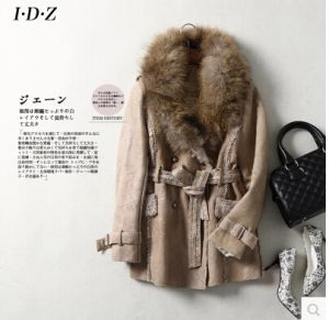 Leather and Fur Coat pictures & photos