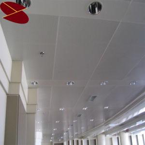 China Wholesale 600*600mm Powder Coat Moisture-Proof Interior Design Materials Aluminum Ceiling Tiles pictures & photos