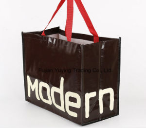 PP Woven Tote Bag with Customized Pringting pictures & photos