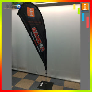 Outdoor Flying Advertising Polyester Feather Flag, Teardrop Beach Flag pictures & photos