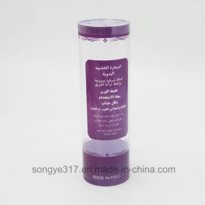 PVC Clear Cake & Biscuit Plastic Cylinder pictures & photos