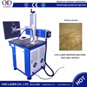 60W Table Style CO2 Synrad Laser Marking Machine for Non Metal pictures & photos