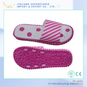 New Arrival PVC Upper Flower Ladies Girls EVA Slippers pictures & photos