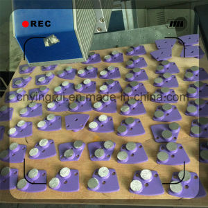 Concrete Diamond Trapezoid Grinding Plate for Floor Grinder pictures & photos