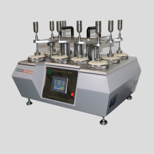 Factory Price 8 Heads Martindale Abrasion Testing Machine pictures & photos