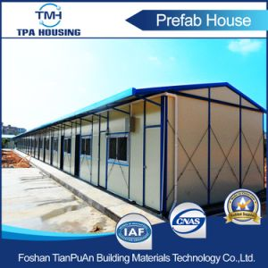 Low Cost Light Steel Structure Frame Prefab House for Worker Domitory pictures & photos