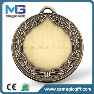 3D Customized Metal Medal with Soft Enamel Color Filling pictures & photos