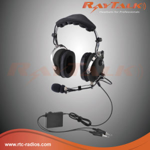 General Aircraft Anr Headset with Metal Boom Microphone pictures & photos