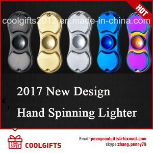 2017 New Design Electric Hand Spinning USB Charged Cigarette Lighter pictures & photos