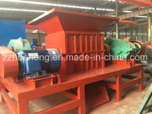 High Efficiency Recycle Waste Metal Used Double Shaft Scrap Metal Shredder Machine pictures & photos