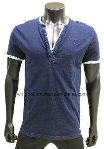 False Two-Piece T-Shirt for Men pictures & photos