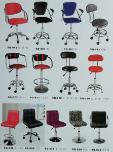 Rotary Comfortable High Back Bar Chair Bar Stool for Sale pictures & photos