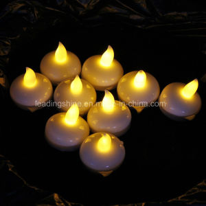 Water Active Floating Water LED Candle Lights Decor Flameless Candle Yellow pictures & photos