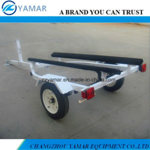 Small Boat Trailer with Bunks pictures & photos