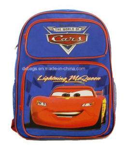 "Cars Blue 16"" Backpack for Children Back to School Backpack pictures & photos"