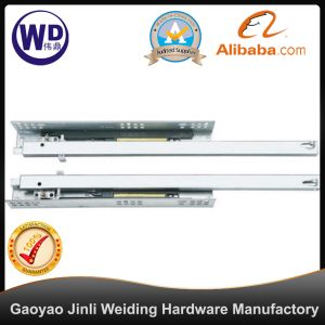 SL-2406 Cheap Two Fold Soft Close Telescopic Channel Drawer Slide pictures & photos