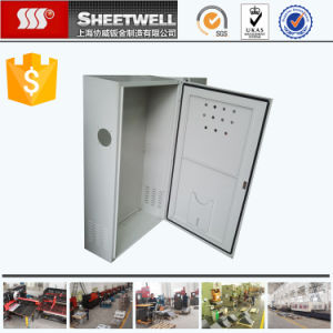 Galvanised Sheet Metal Quality Electrical Enclosures Manufacture pictures & photos