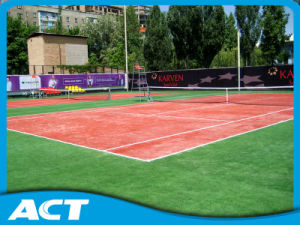 High Quality Durable Good Performance Artificial Tennis Grass Tennis Field Sf13 pictures & photos