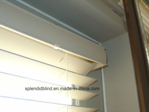 50mm Bass Wood Venetian Blinds with UV Coating (SGD-Blind-1067) pictures & photos
