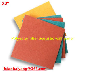 Eco-Friendly Sound Absorbing 100% Polyester Acoustic Panel Wall Panel Ceiling Panel Detective Panel pictures & photos