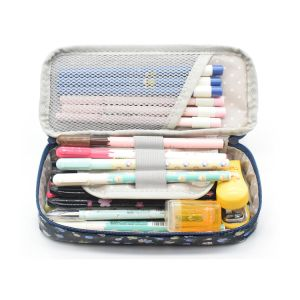 Fashion Neoprene Custom Pencil Bag/Environmental Quality Polyester Fabric Pencil Case/Pen Bag Makeup Pouch Zipper Box Office Organizer Rose Floral pictures & photos