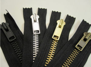 Brass Zipper Metal Zipper Alu Zipper pictures & photos