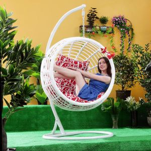 Swing Outdoor Swing, Rattan Furniture, Rattan Basket (D024) pictures & photos