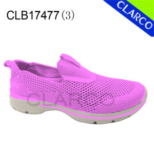 Unisex Casual Sneaker Shoes with Flyknit Mesh Upper pictures & photos