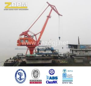 Floating Marine Ship Crane /Offshore Crane in The Sea pictures & photos