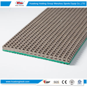 Iaaf Synthetic Stadium Flooring Rubber Athletics Running Track pictures & photos