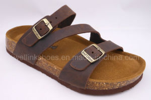 2017 Cork Shoes Cork Sandal Corkslipper Birken Stock Sandal pictures & photos