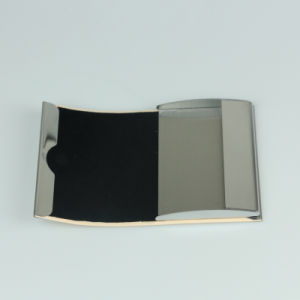 Stainless Steel Card Case Vegetable Tanned Leather Business Card Holder pictures & photos