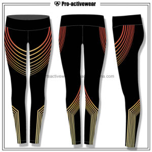 OEM Factory Women′s Yoga Running Workout Leggings pictures & photos