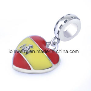 Customized Jewelry Bead Charm with Enamel Color pictures & photos