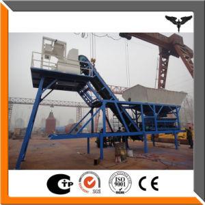 Full Set 35~ 75 M3/H Portable Concrete Plant pictures & photos