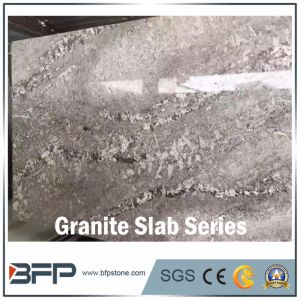 High End Snowy Fox Granite Slab for Step and Riser pictures & photos