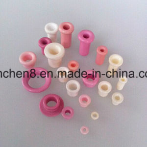 99.7% Al2O3 Ceramic Eyelet for Filament Spinning Machine (ID: 0.5mm 6X4X0.5X4) pictures & photos