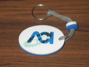 EVA Foam Customized Shape Float Key Ring pictures & photos