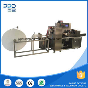 China High Speed Auto 3 Side Sealing Antiseptic Wipes Machinery pictures & photos