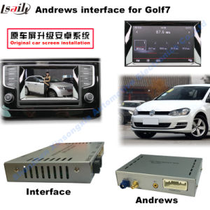 Android GPS Navigation System Video Interface for Volkswagen Golf 7 pictures & photos