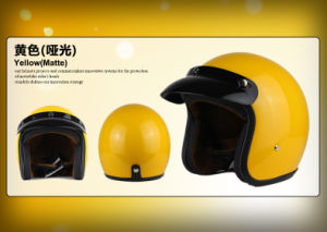 ABS material Open Face Helmet for Motorcycle Parts with Ce Certificated. pictures & photos