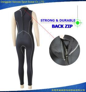 Neoprene Women Sexy Jacket Vest Nylon Fbric Surfing Wetsuit pictures & photos