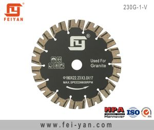 Turbo Blade with Protective for Granite-V Type pictures & photos