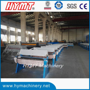 WH06-2.5X1220 manual steel pan box folding bending forming machine pictures & photos