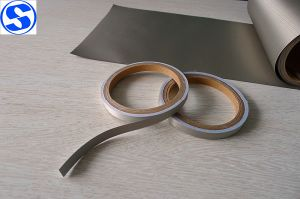 RFID Rip-Stop Copper Nickel Conductive Fabric for EMI Filter pictures & photos