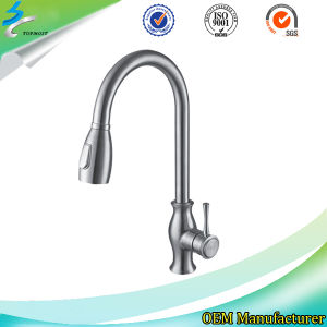 Stainless Steel Kitchen Water Basin Faucet in Bathroom Accessories pictures & photos