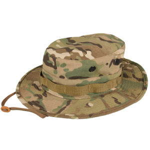 Military Cotton & Polyester Ripstop Six Colors Desert Camouflage Bonnie Hat pictures & photos